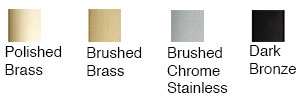 Plated Door Finishes