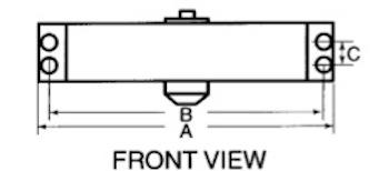 door closer information