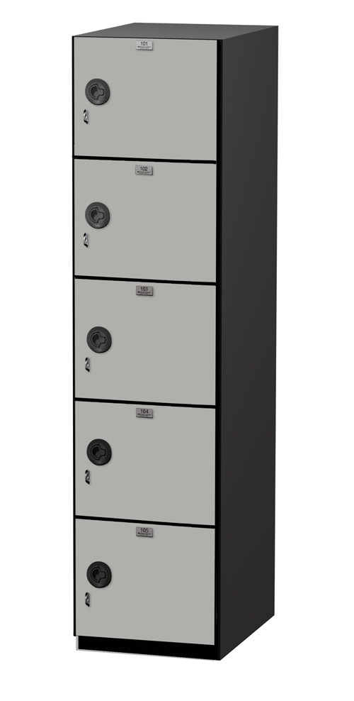 6 tier Phenolic locker